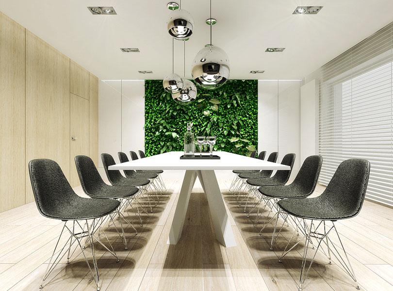 projektowanie wnętrz biurowych - salon samochodowy BMW Bydgoszcz