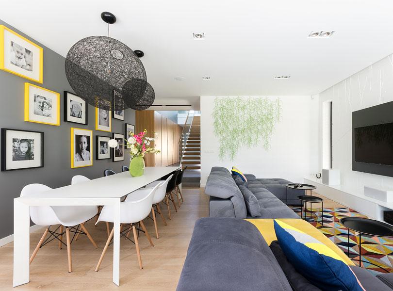 projektowanie wnętrz - minimalistyczne wnętrze InterYour