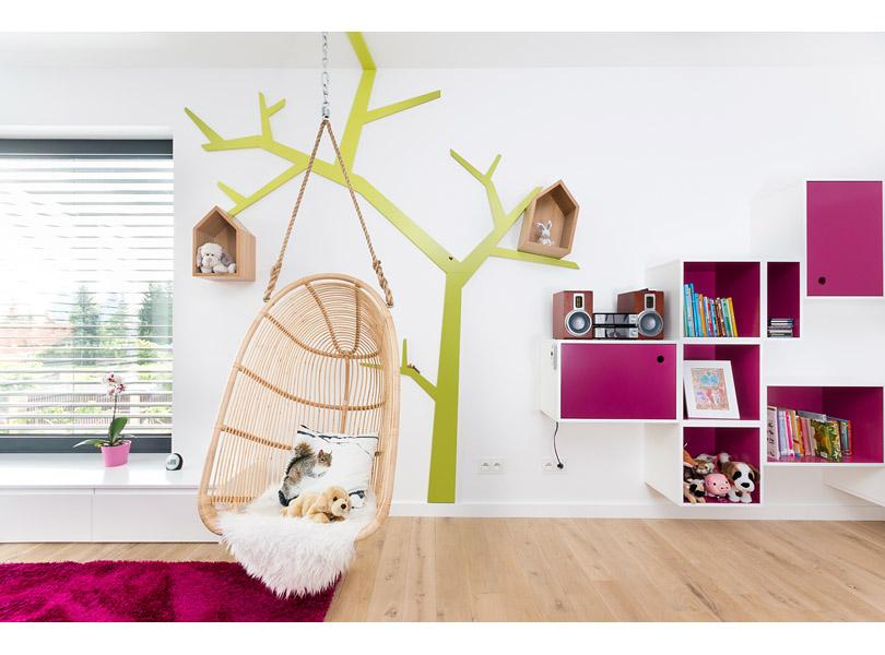 projektowanie wnętrz - pokój dziecka z kolorowymi dodatkami