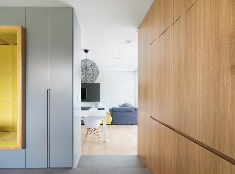 projektowanie wnętrz - minimalistyczne wnętrze