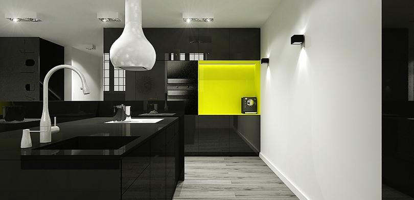 projektowanie wnętrz - loft u Scheiblera