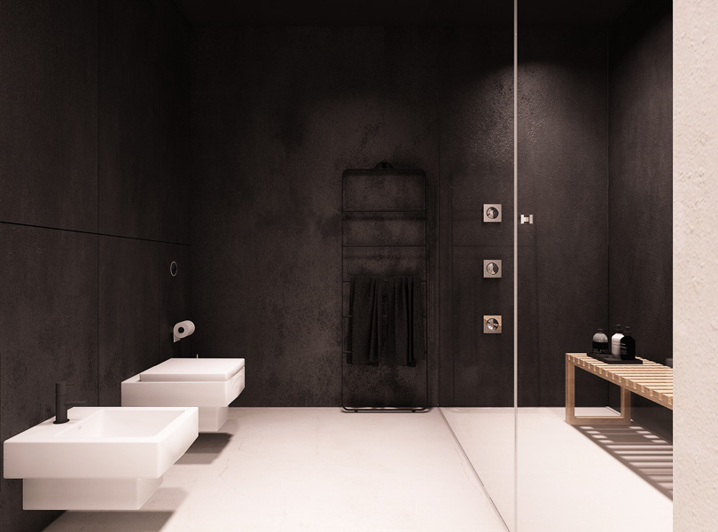 łazienka z sauną parową